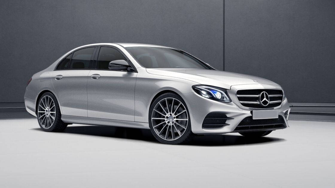 image showing The Mercedes S-Class is our standard saloon but there are options according to taste